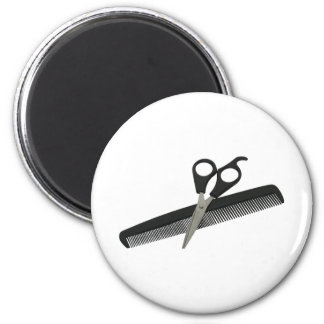 ScissorsComb052010 Fridge Magnet