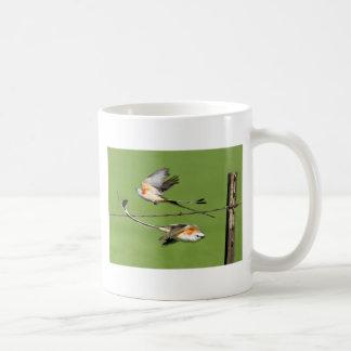 Scissortails in Flight Coffee Mug