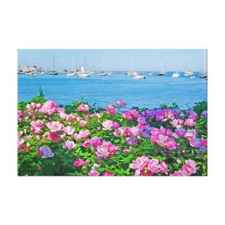 Scituate en la floración lienzo envuelto para galerias