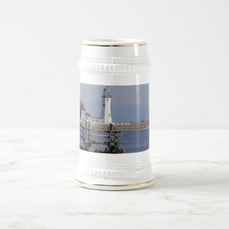 Scituate Harbor Ligthouse - Stein /Mug 18 Oz Beer Stein