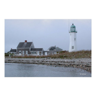 Scituate Lighhouse Panorama Poster