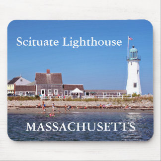 Scituate Lighthouse, Massachusetts Mousepad