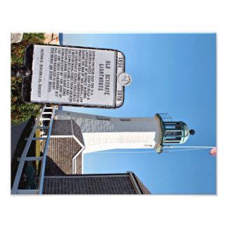 Scituate Lighthouse, Massachusetts Photo Print