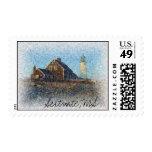 Scituate Lighthouse, Massachusetts Stamp