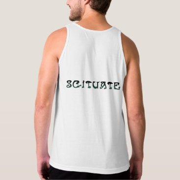 Beach Themed Scituate, MA - Old Scituate Light Tank Top