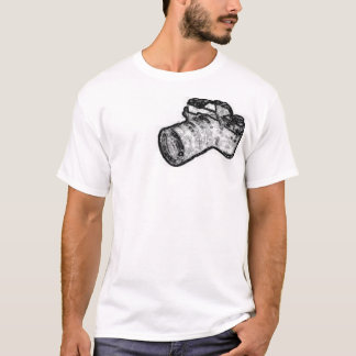 Scketchy Camera T-Shirt