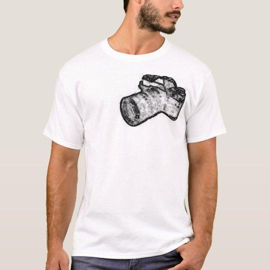 Scketchy Camera T-Shirt
