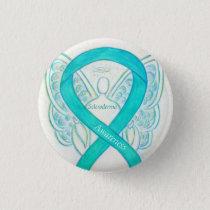 Scleroderma Angel Awareness Ribbon Pins