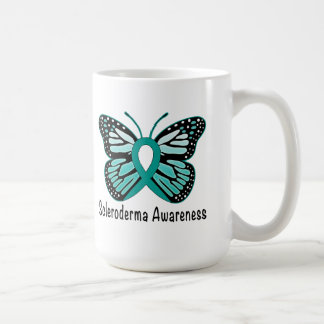 Scleroderma Awareness Butterfly Coffee Mug