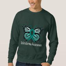 Scleroderma Awareness Butterfly Sweatshirt