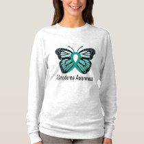 Scleroderma Awareness Butterfly T-Shirt