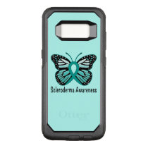 Scleroderma Awareness Ribbon with Wings OtterBox Commuter Samsung Galaxy S8 Case
