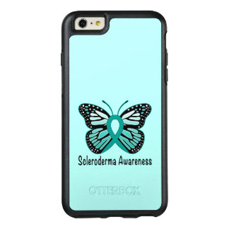 Scleroderma Awareness Ribbon with Wings OtterBox iPhone 6/6s Plus Case