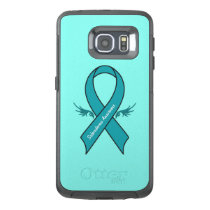 Scleroderma Awareness Ribbon with Wings OtterBox Samsung Galaxy S6 Edge Case