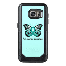 Scleroderma Awareness Ribbon with Wings OtterBox Samsung Galaxy S7 Case