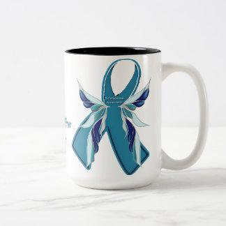 Scleroderma Awareness Teal Ribbon Cause Mug