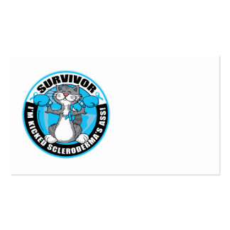 Scleroderma Boxing Cat Business Card