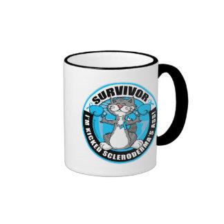 Scleroderma Boxing Cat Ringer Mug