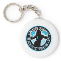 Scleroderma Boxing Girl Keychain