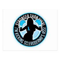 Scleroderma Boxing Girl Postcard