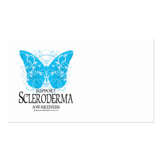 Scleroderma Butterfly 2 Business Card