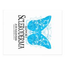 Scleroderma Butterfly 2 Postcard
