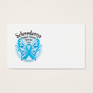 Scleroderma Butterfly Business Card