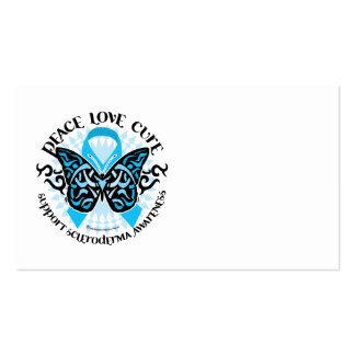 Scleroderma Butterfly Tribal Business Card Templates