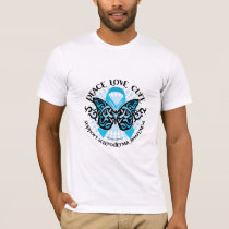 Scleroderma Butterfly Tribal T-Shirt