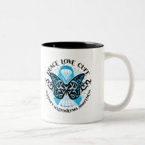 Scleroderma Butterfly Tribal Two-Tone Coffee Mug