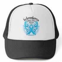 Scleroderma Butterfly Trucker Hat