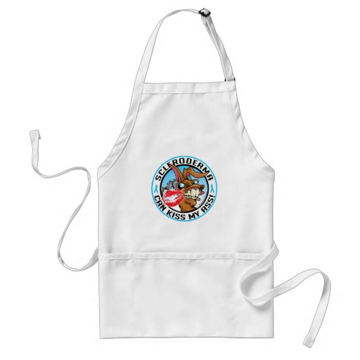 Scleroderma Can Kiss My Ass Aprons