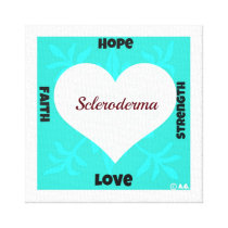 Scleroderma Canvas Print