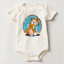 Scleroderma Cat Baby Bodysuit