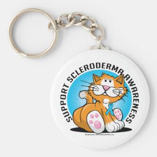 Scleroderma Cat Keychain