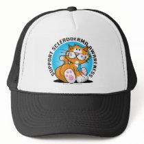 Scleroderma Cat Trucker Hat