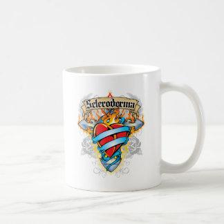 Scleroderma Cross & Heart Coffee Mug