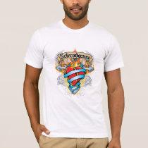 Scleroderma Cross & Heart T-Shirt