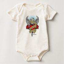Scleroderma Dagger Baby Bodysuit