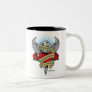 Scleroderma Dagger Two-Tone Coffee Mug