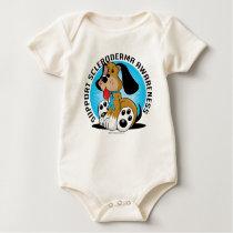 Scleroderma Dog Baby Bodysuit