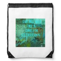 Scleroderma Drawstring Bag