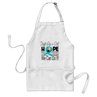 Scleroderma Fight We Can Do It Adult Apron