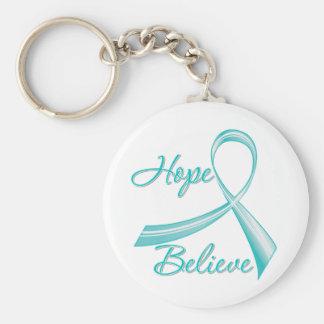Scleroderma - Hope Believe Keychains