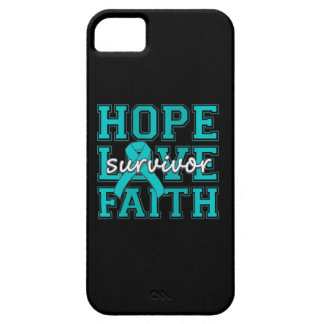 Scleroderma Hope Love Faith Survivor iPhone 5 Cover