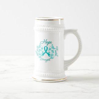 Scleroderma Hope Motto Butterfly Coffee Mugs
