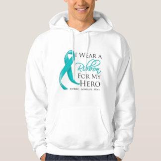 Scleroderma I Wear a Ribbon For My Hero Hoodie