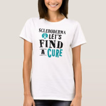 Scleroderma Let's Find A Cure Tshirt