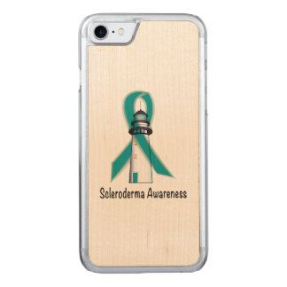 Scleroderma Lighthouse of Hope Carved iPhone 8/7 Case