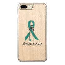 Scleroderma Lighthouse of Hope Carved iPhone 8 Plus/7 Plus Case